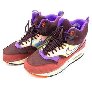 Nike Air Max 1 Mid Waterproof Rain Sneaker hightop
